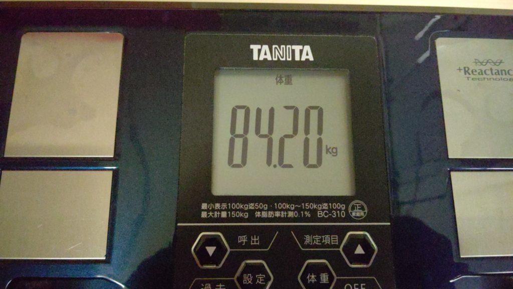 41歳おっさんが糖質制限ダイエットを始めました。4日目。1ポンドステーキ登場