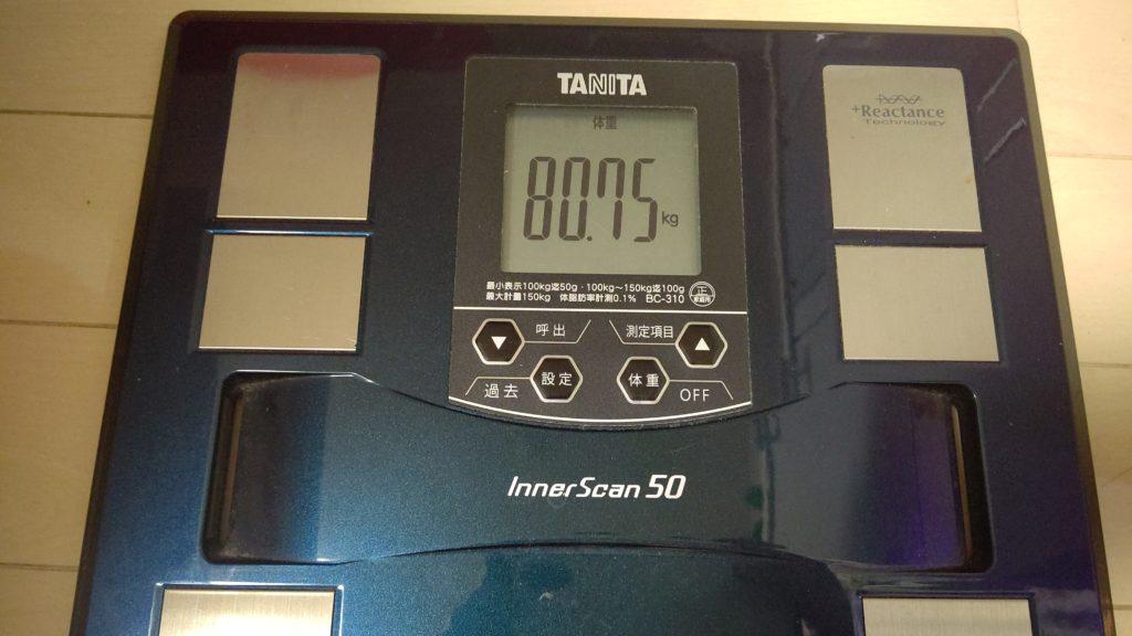 41歳おっさんが糖質制限ダイエットを始めました。27日目。リバウンド王桜木か?!