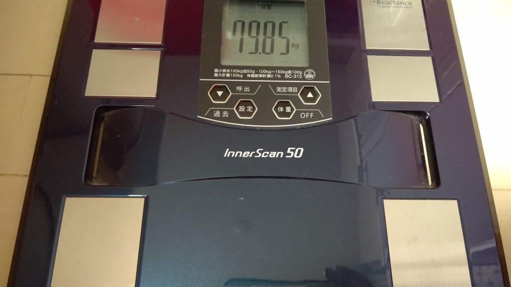 41歳おっさんが糖質制限ダイエットを始めました。41日目。でたwリバウンド王桜木花道