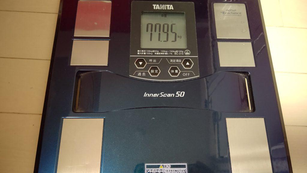 41歳おっさんが糖質制限ダイエットを始めました。55日目。もうグダグダだから気合を入れなおすからね!